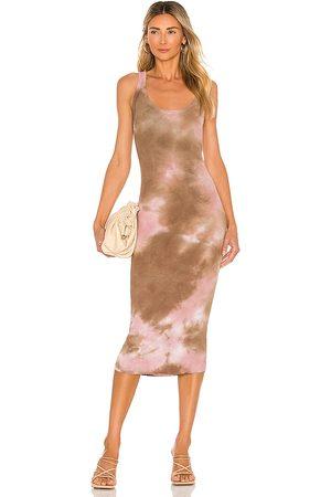 Cotton Citizen Vestido verona en color marrón talla L en - Brown. Talla L (también en XS, S, M).