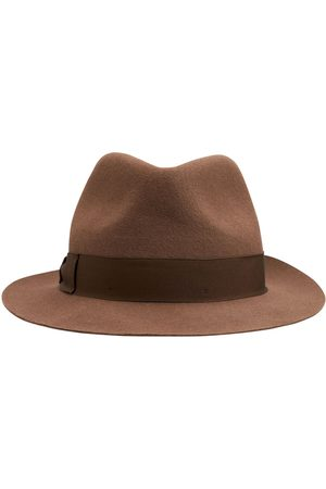 Borsalino Mujer Sombreros - Sombrero De Fedora De Fieltro Cepillado