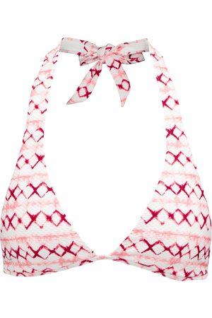 Heidi Klein Penida tie-dye halterneck bikini top