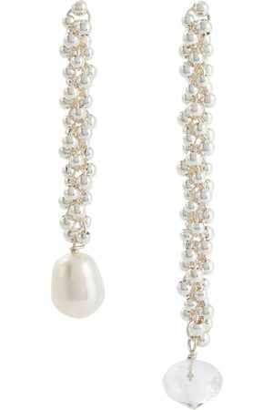 Alighieri Mujer Aretes - The Reunion Of The Stars pearl and sterling silver earrings