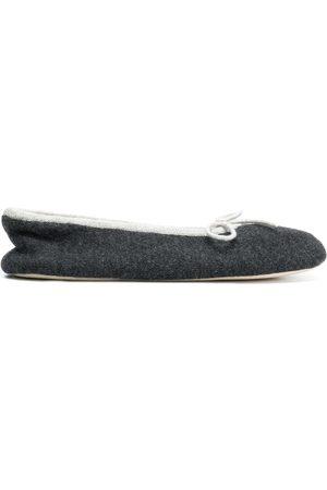 N.PEAL Bow tie slippers