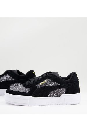Puma CA Pro trainers in black paisley print exclusive to ASOS