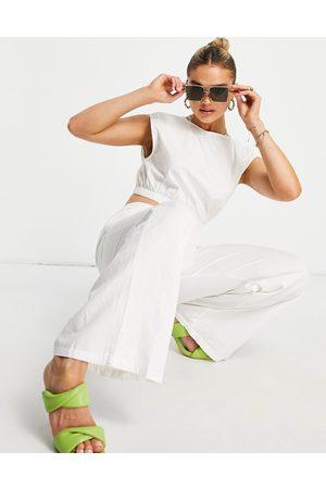 Pretty Lavish Mujer Leggings y treggings - Relaxed trouser co