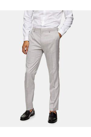 Topman Slim suit trouser in grey