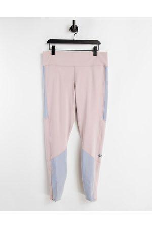 Nike Epic Luxe Run Division flash running leggings in multi