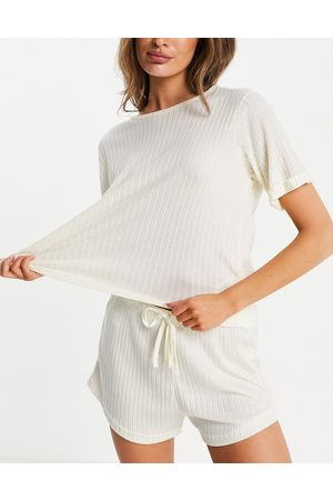 Missguided Loungewear ribbed oversized t