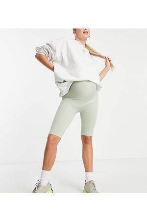 Mama Licious Mujer Shorts - Mamalicious Maternity recycled blend active seamless shorts co