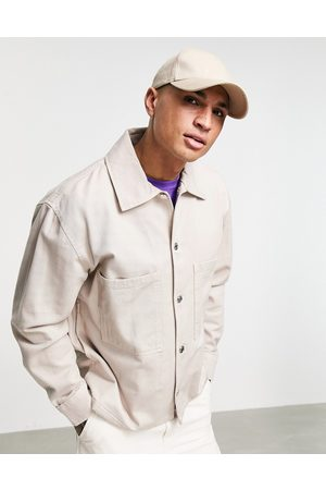 Weekday Bryant Washed Overshirt in