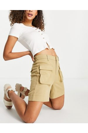 Object Recycled blend utility short in sand
