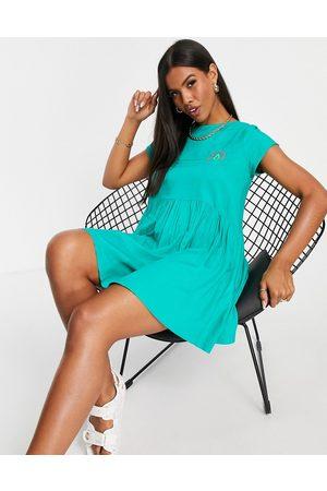 Volcom Eazi dress in green