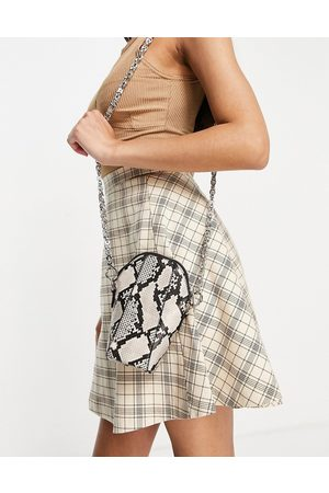 Ego Mujer Bolsas crossbody - X Maura chain strap cross body bag in natural snake