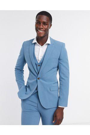 ASOS Super skinny suit jacket in teal