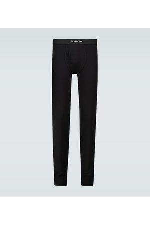 Tom Ford Long John cotton pants