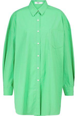 Frankie Shop Melody oversized cotton shirt