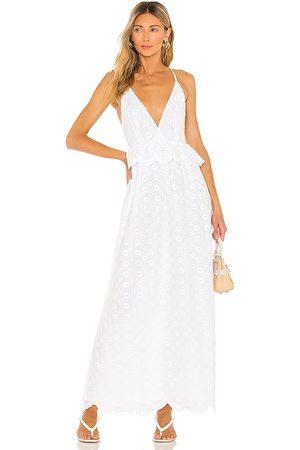 Tularosa Vestido brier en color talla L en - White. Talla L (también en M, S, XL, XS, XXS).