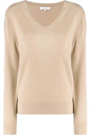 Vince Mujer Suéteres - Suéter con cuello en V