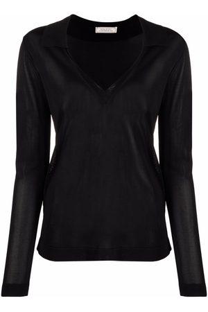 Nina Ricci Mujer Suéteres - Suéter tejido con cuello en V