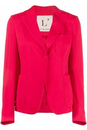 L'Autre Chose Mujer Sacos - Blazer ajustado con botón