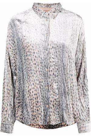 Forte Forte Mujer Blusas - Blusa con estampado de leopardo