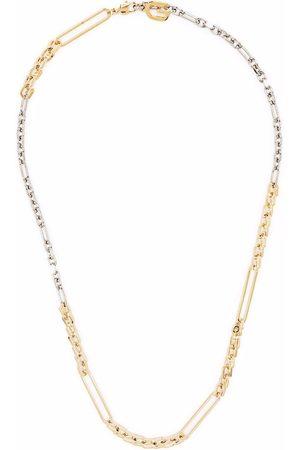 Givenchy Hombre Collares - Collar de cadena con eslabones en contraste