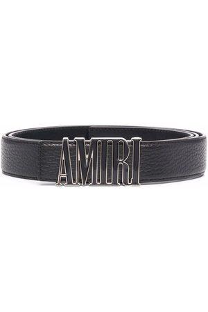 AMIRI Cinturón con placa del logo
