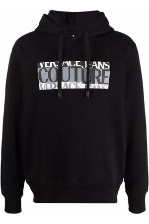 Versace Jeans Couture Hombre Con capucha - Hoodie con logo estampado