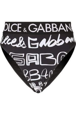 Dolce & Gabbana Calzones con garabatos estampados