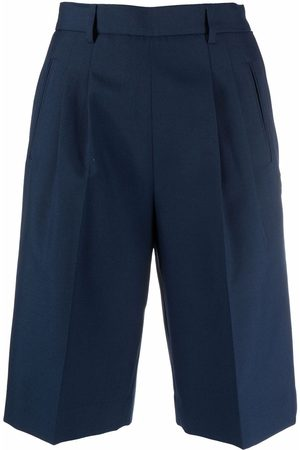 Maison Margiela Shorts de vestir con tiro alto