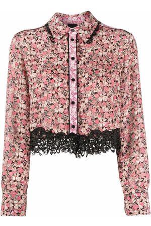 Pinko Camisa con motivo floral