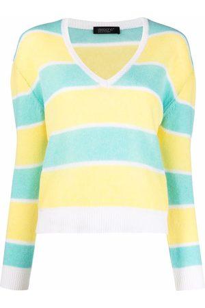 ARAGONA Suéter con cuello en V