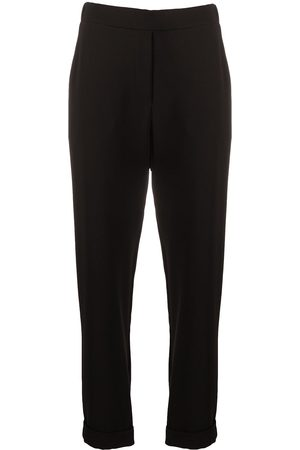P.a.r.o.s.h. Pantalones rectos elásticos