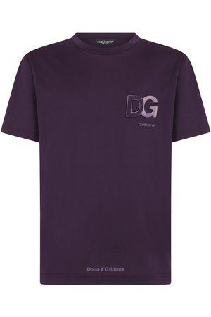 Dolce & Gabbana Playera con logo en relieve