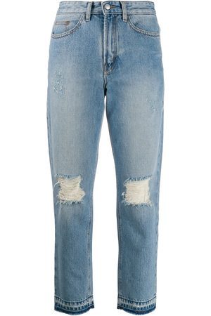 Zadig & Voltaire Jeans rectos con efecto envejecido