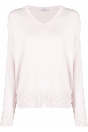PESERICO SIGN Mujer Suéteres - Suéter tejido con cuello en V