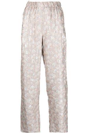 FORTE FORTE Mujer Pantalones y Leggings - Pantalones rectos en jacquard