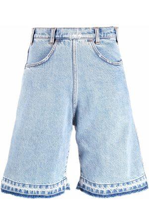 Serafini Shorts de mezclilla anchos