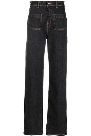 Bash Jeans rectos con tiro alto