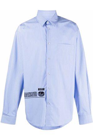 MSGM Camisa con logo estampado