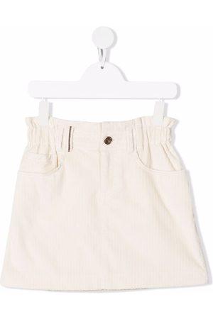 Brunello Cucinelli Minifalda de pana