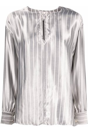 FORTE FORTE Blusa con estampado de rayas