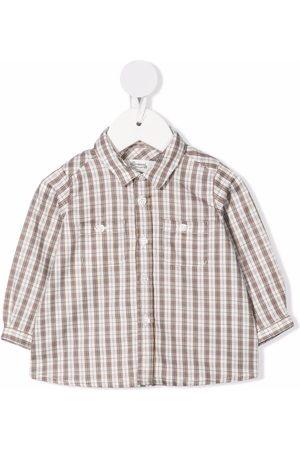 BONPOINT Camisa con estampado de cuadros