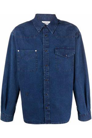 Kenzo Camisa de mezclilla con botones