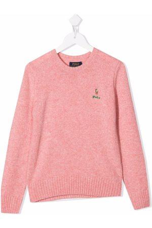 Ralph Lauren Suéter de cachemira con logo bordado
