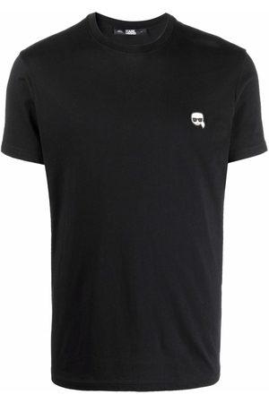 Karl Lagerfeld Camiseta con bordado Ikonik