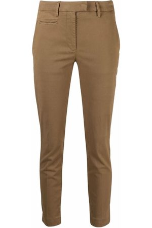 Dondup Skinny-cut cotton trousers