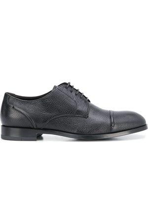 Ermenegildo Zegna Zapatos derby con paneles con costuras
