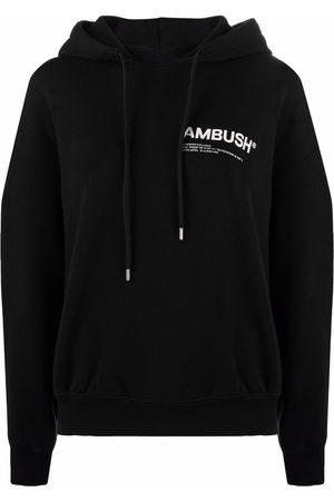 AMBUSH FLEECE WORKSHOP HOODIE BLACK TOFU