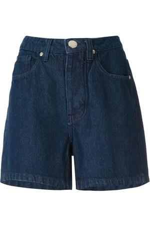 Olympiah Shorts de mezclilla rectos