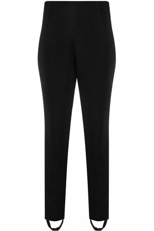 FEDERICA TOSI Ankle-strap high-waisted trousers