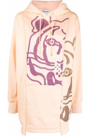 Kenzo Mujer Estampados - Vestido con estampado Tigre